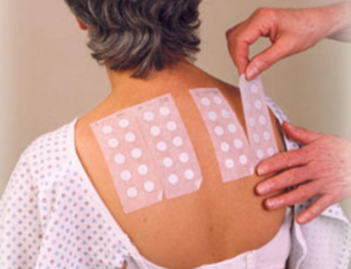 Patch Testing For Contact Dermatitis